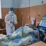 В Украине увеличилось число свободных COVID-коек