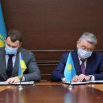 Украина и Казахстан подписали Меморандум о создании инновационных технологий и информационных систем